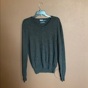 Polo by Ralph Lauren L V-neck wool sweater